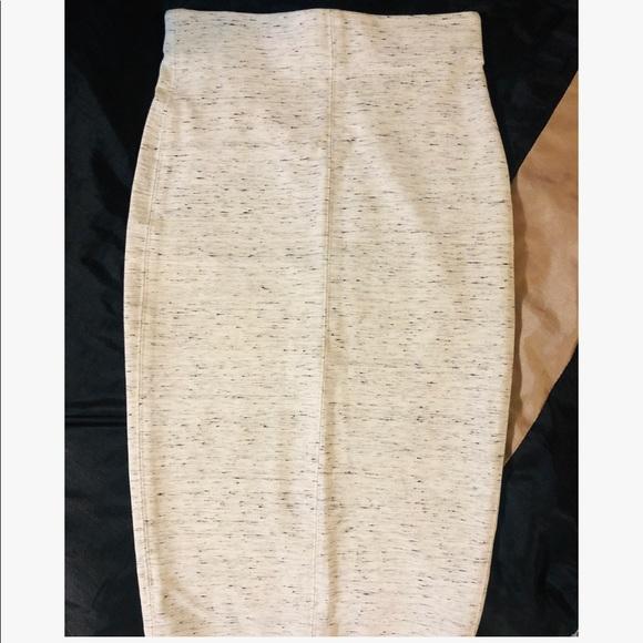 Wilfred Bone White Speckled Skirt.